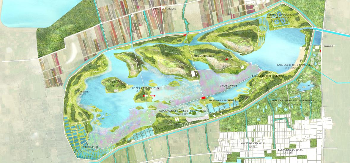 Jinan Baiyun Lac plan 2